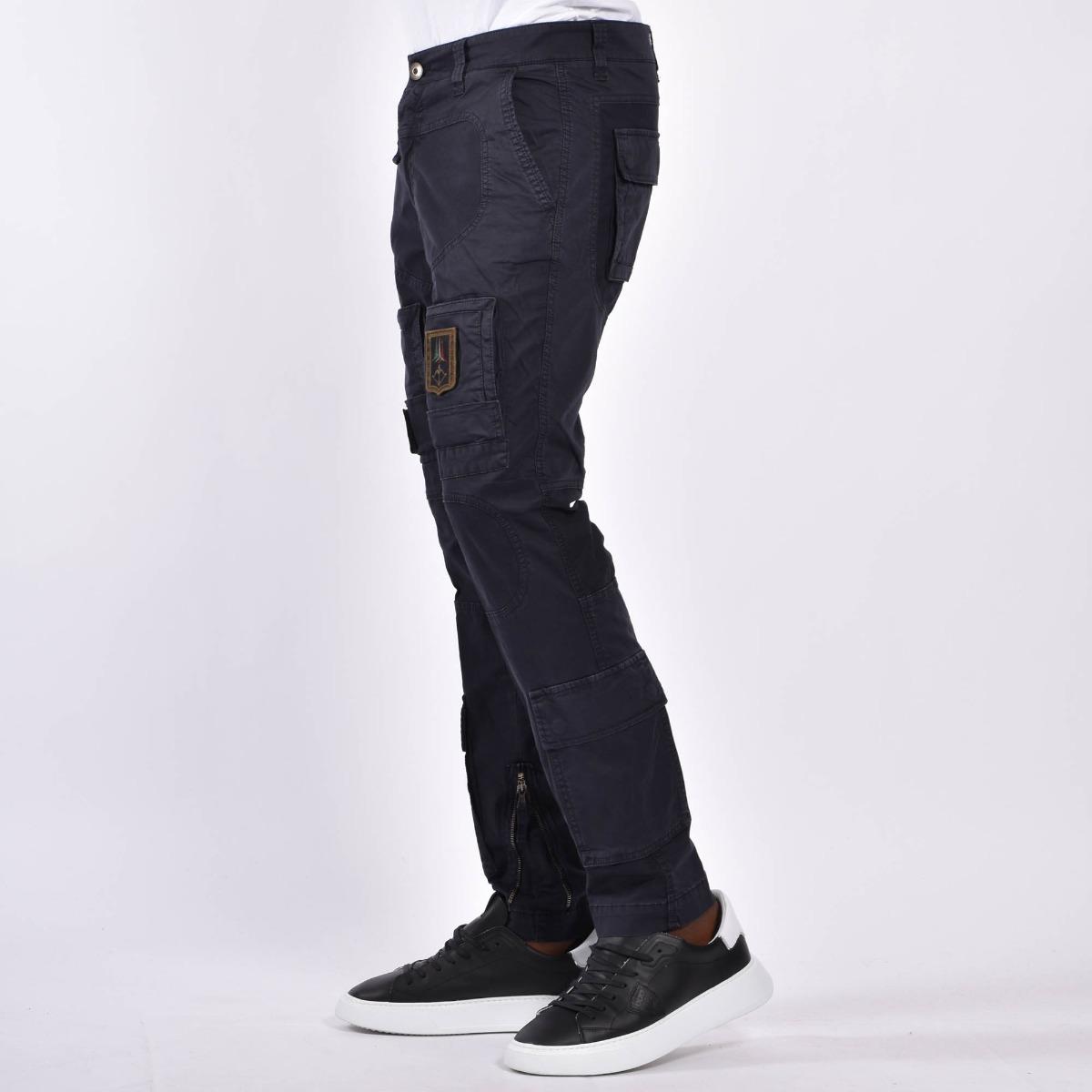 Pantalone anti-g tasconi - Blu scuro