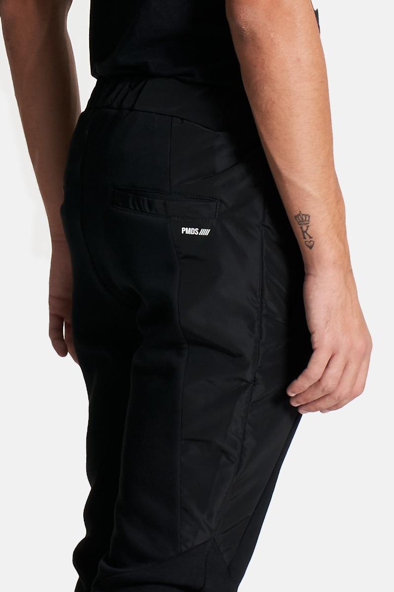 Pantalone coulisse ashi - Nero