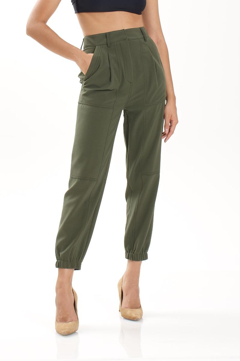 Pantalone cargo mizzy- Army