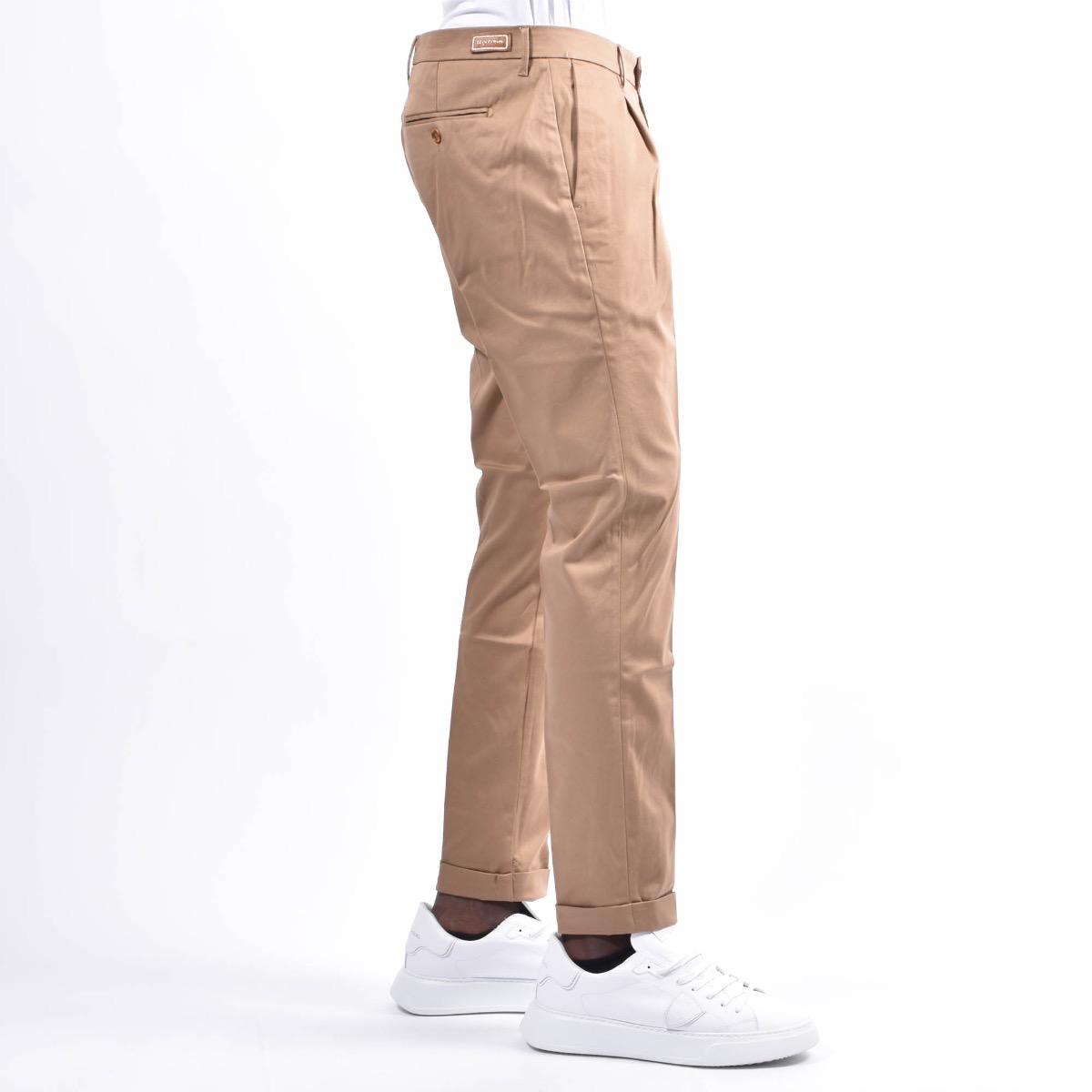 Pantalone con tasca americana - Cachi