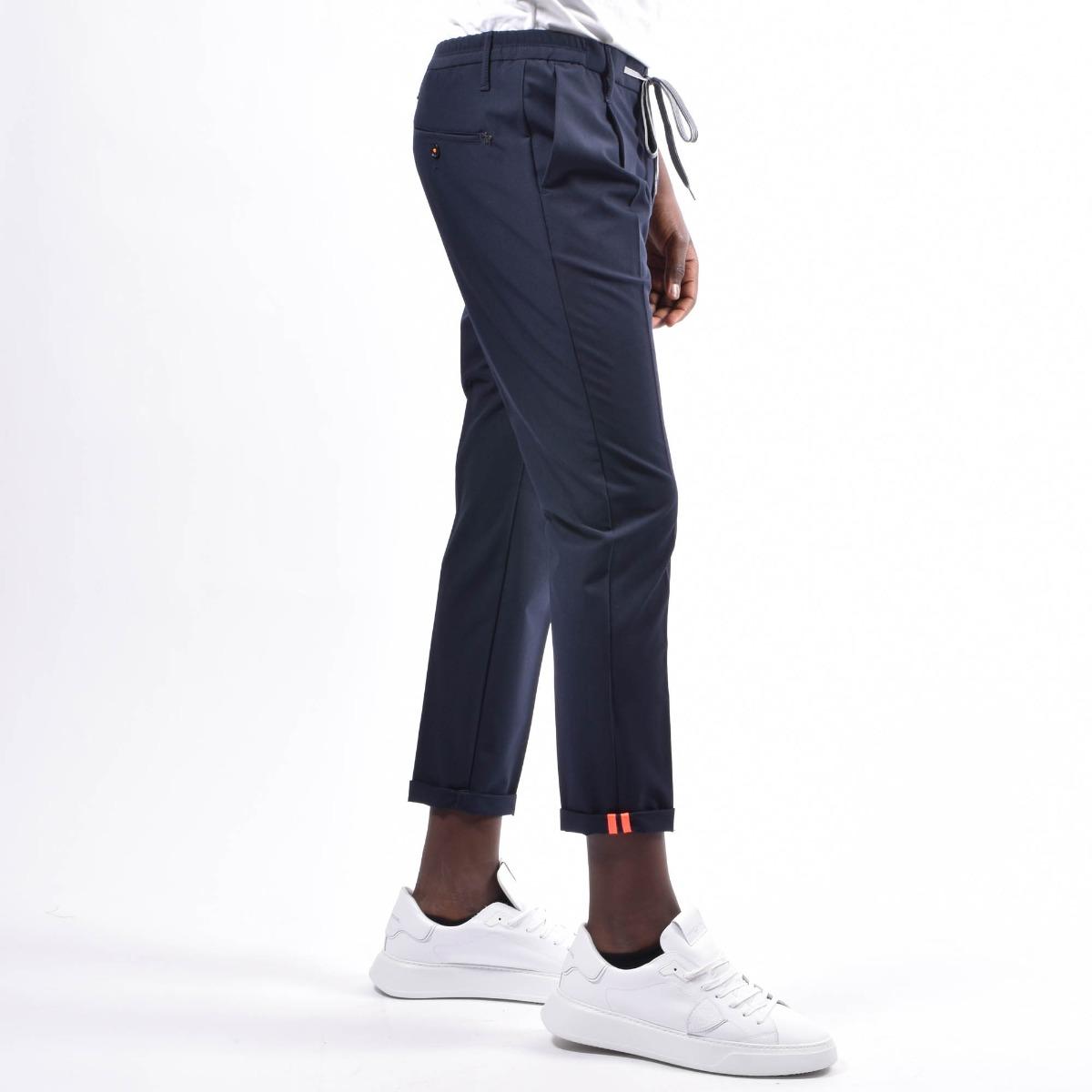 Pantalone con coulisse - Blu
