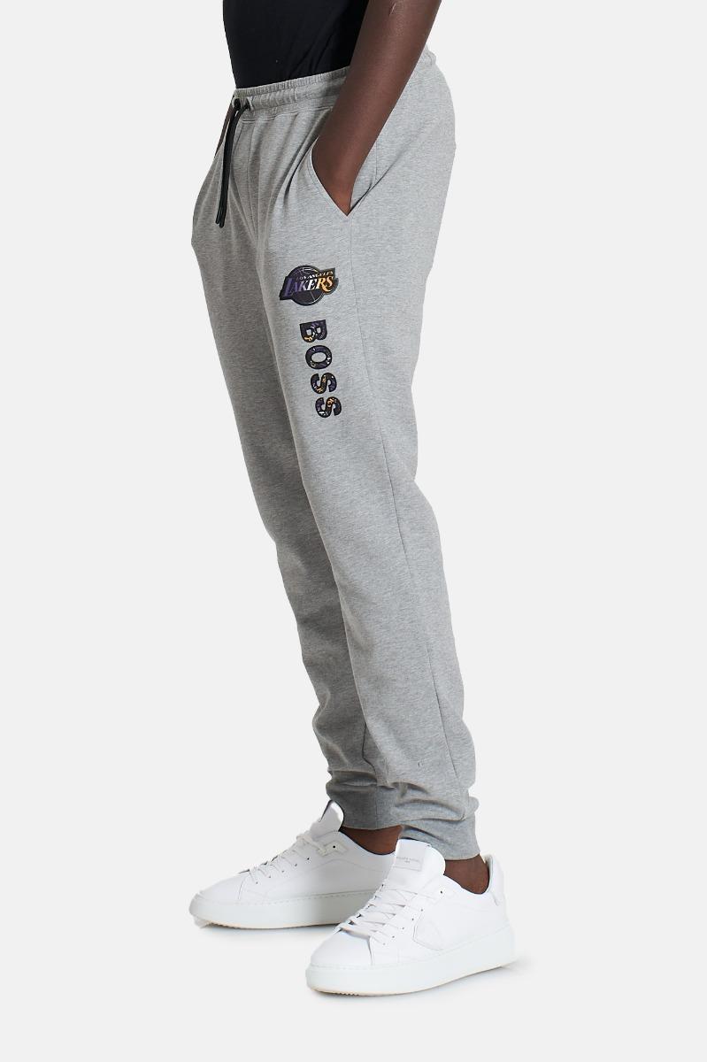 Pantalone felpa lakers- Grigio
