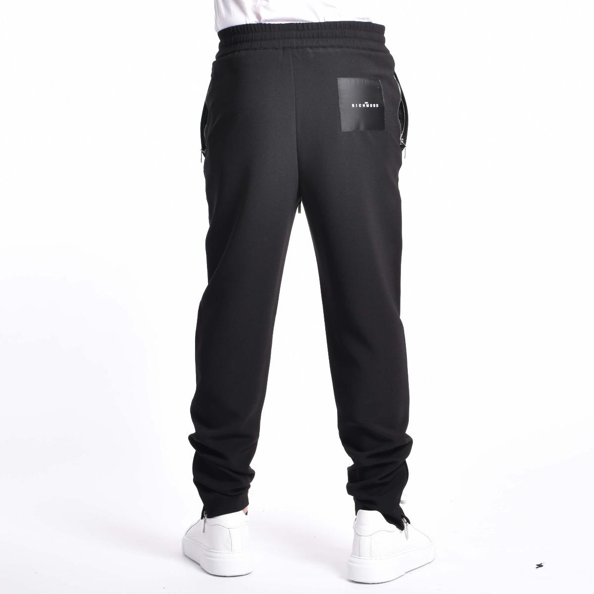Pantalone tuta fleece pudmore- Nero
