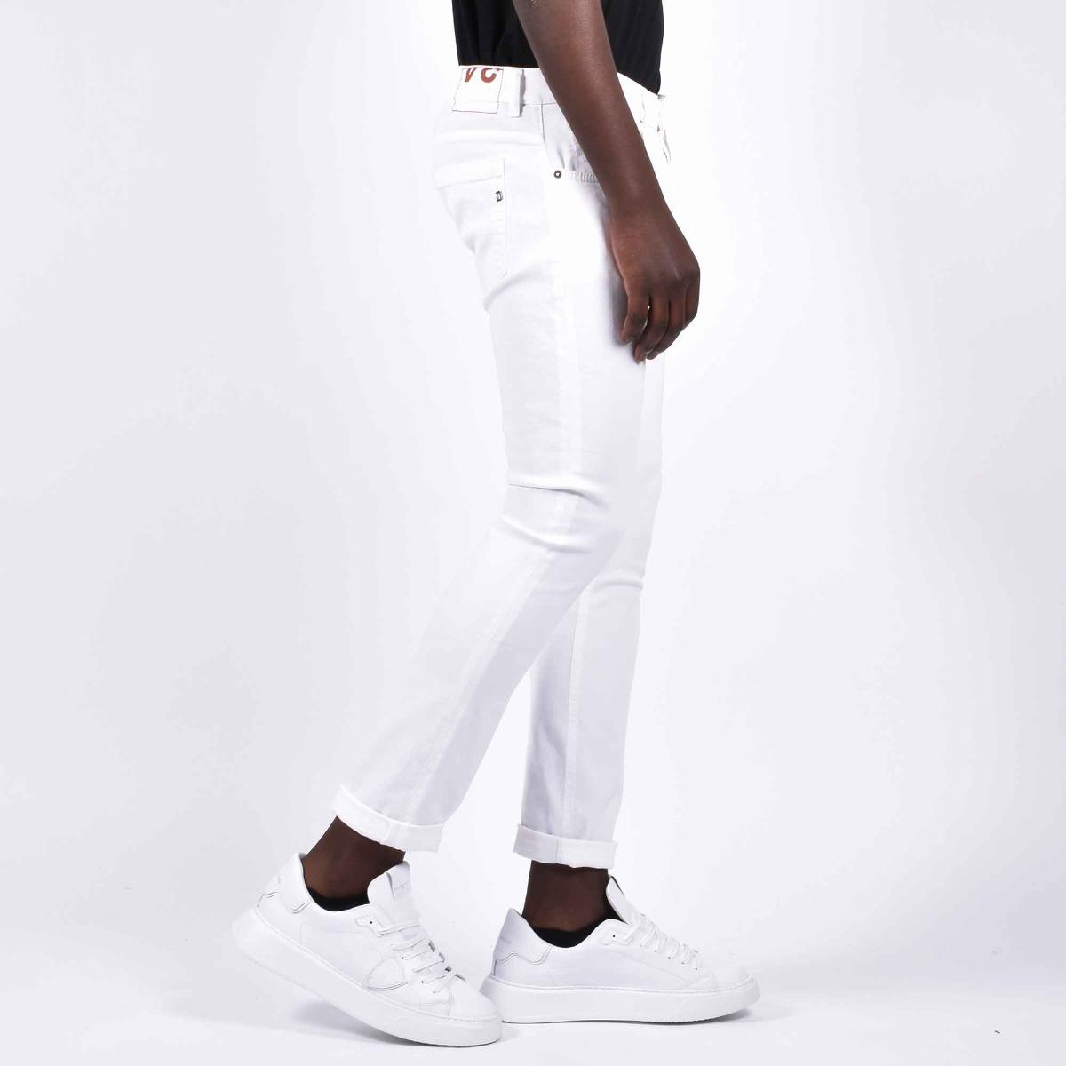 Jeans george - Denim bianco