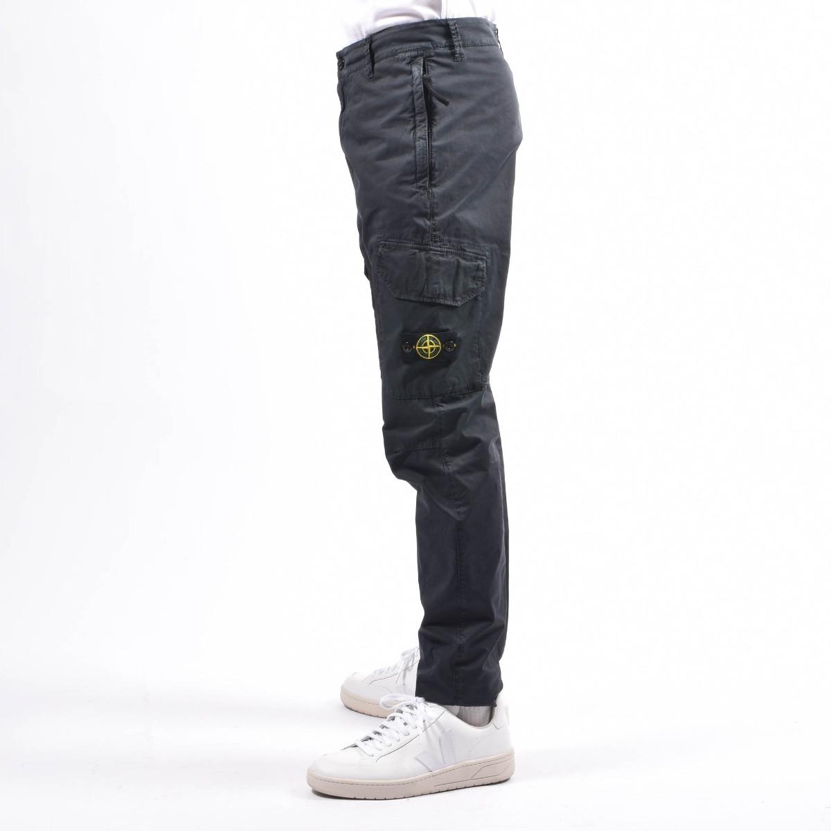 Pantaloni tasconato -Nero