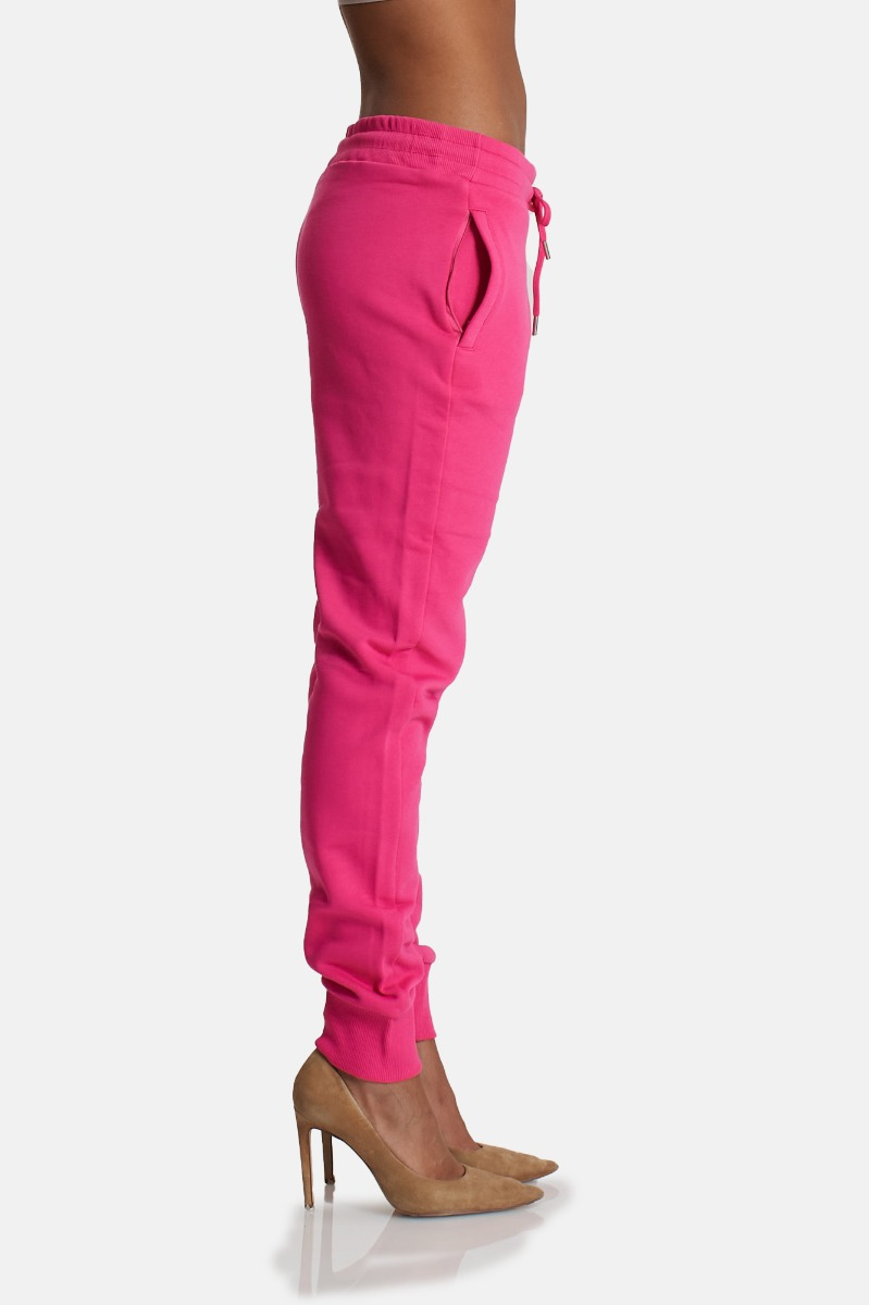 Pantalone tuta logo versace - Fuxia