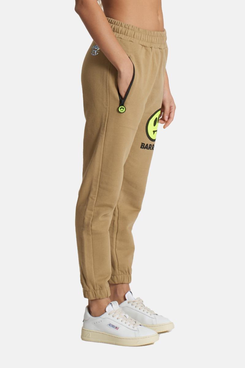 Pantalone tuta con logo- Fango