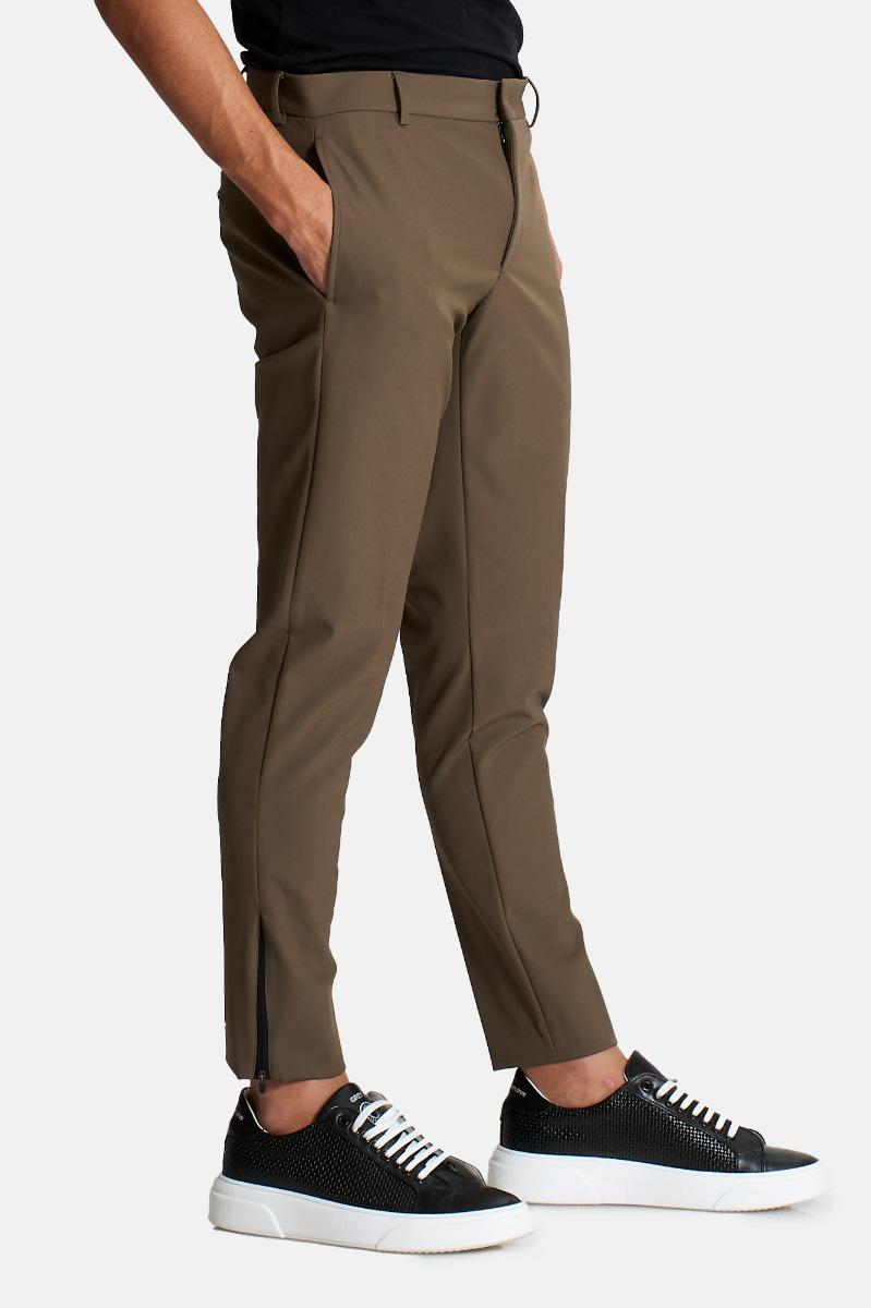 Pantalone zip orl epsilon nu47 - Marrone