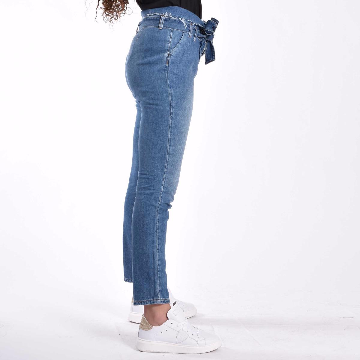 Pantaloni Graceful - Denim