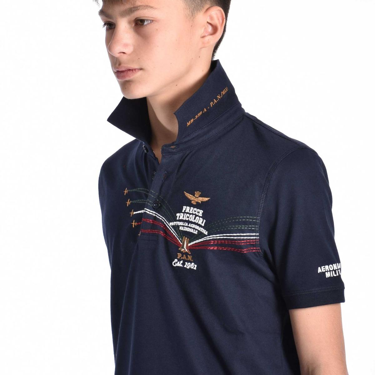 Polo frecce tricolore- Blu navy