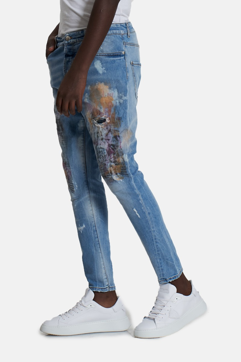 Jeans bijiorm (mick) - Denim