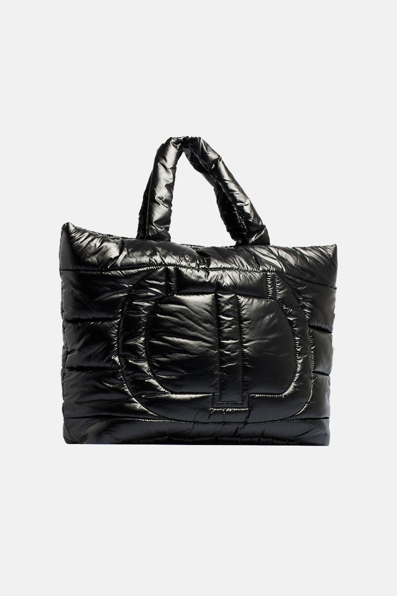 Shopping impermeabile -Nero