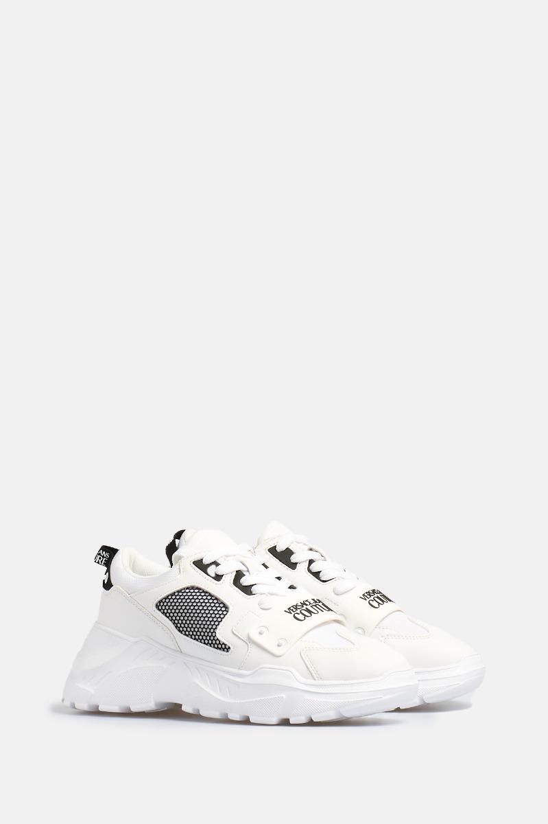 Sneakers fascia logo -Bianca