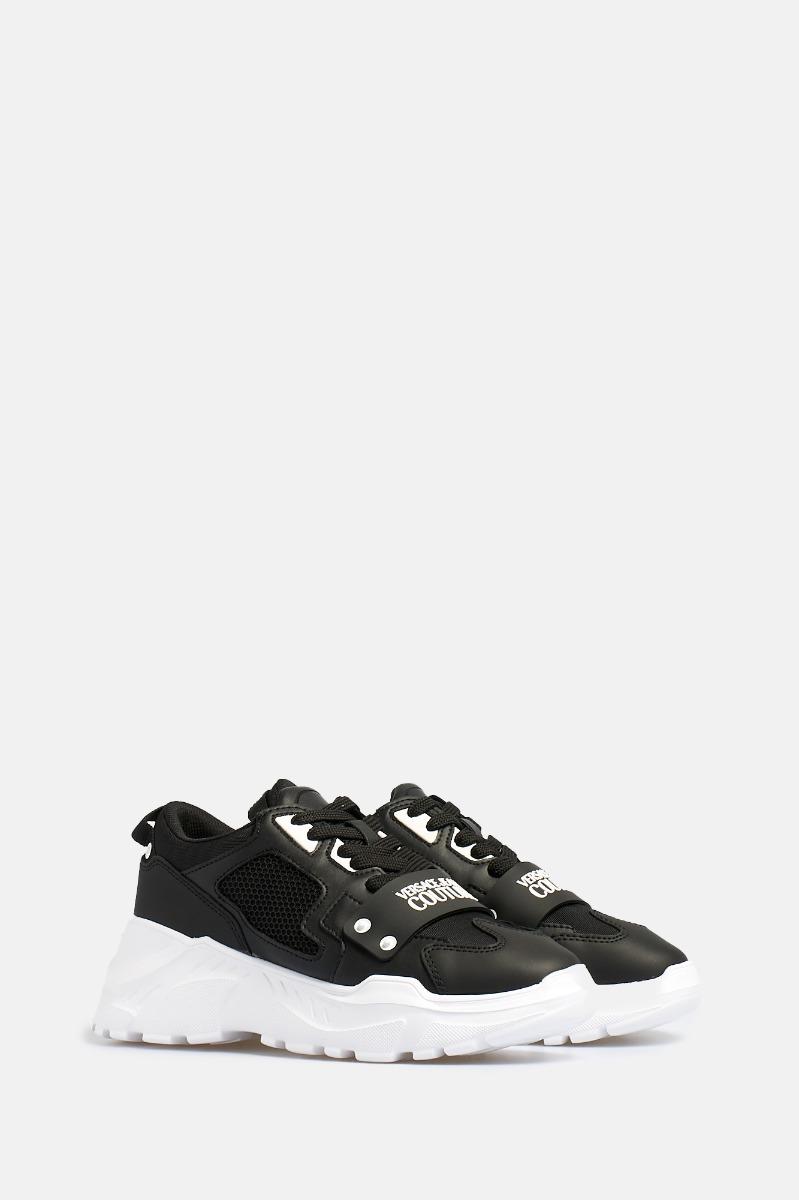 Sneakers fascia logo- -Nero