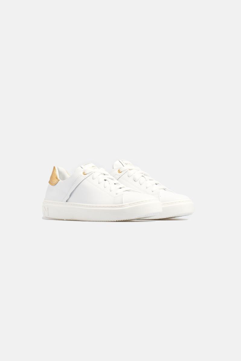 Shoes -Bianco-Oro