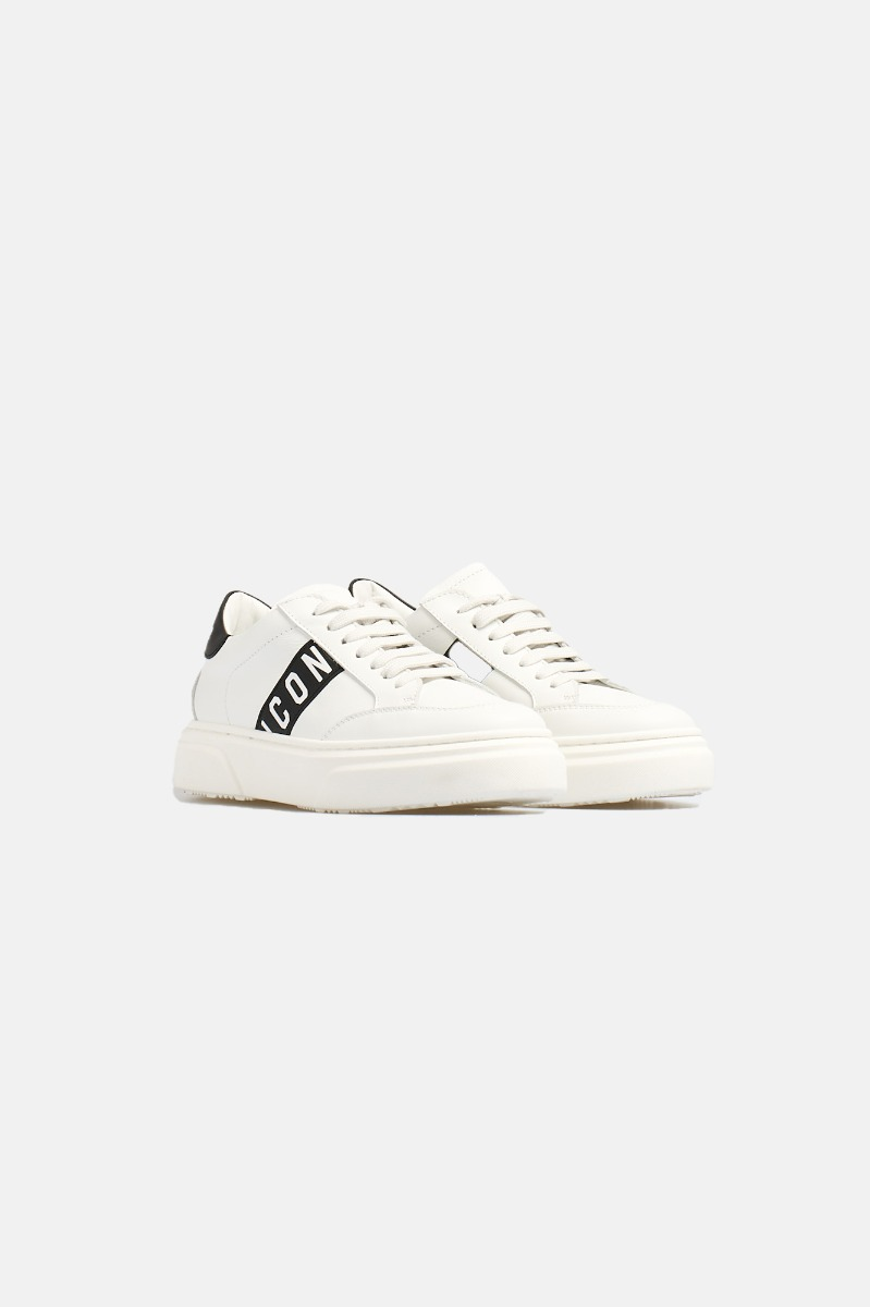 Sneakers icon -Bianco