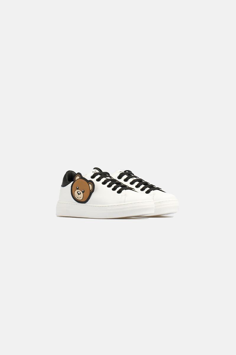 Sneakers orso -Bianco
