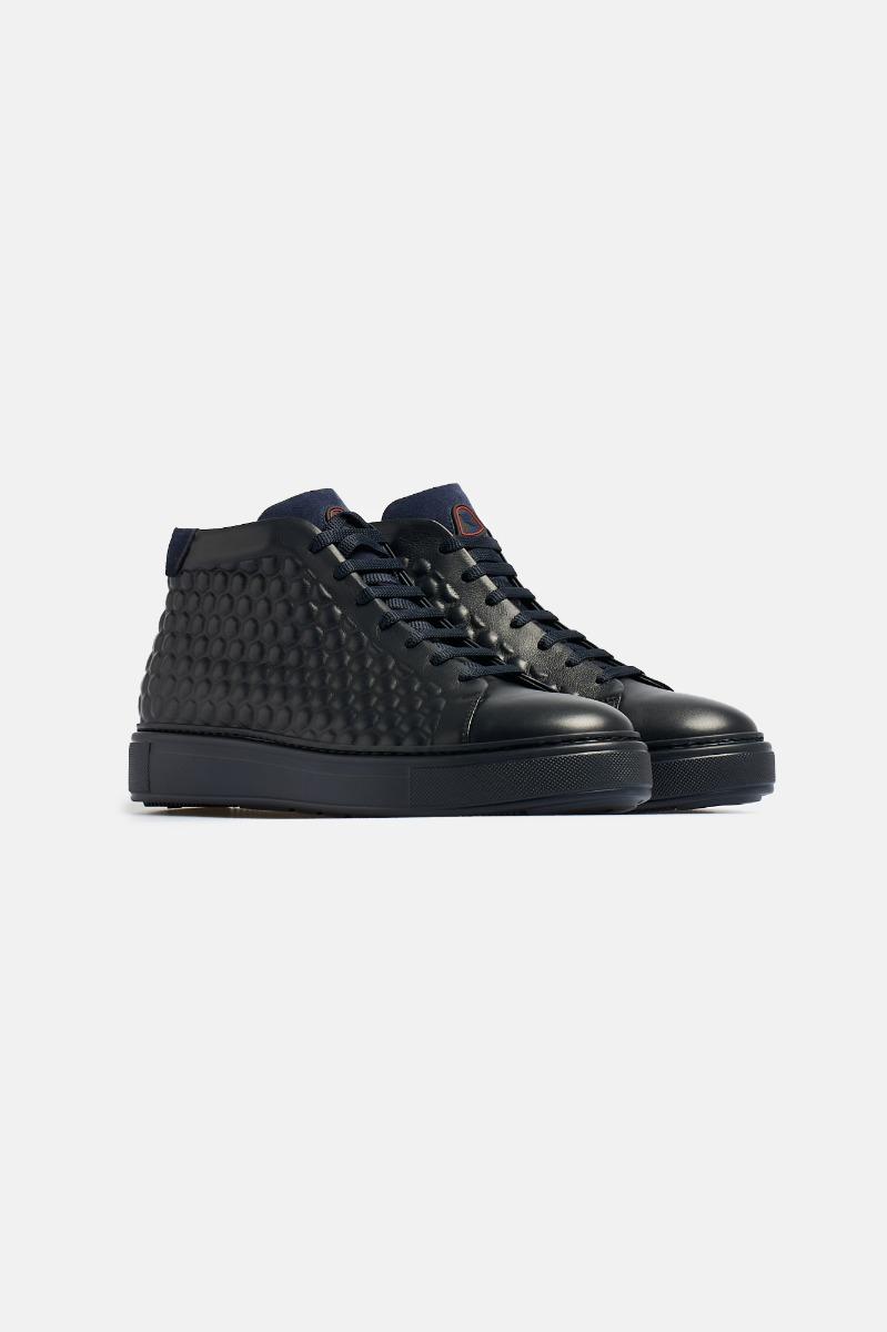 Sneaker alta -Blu