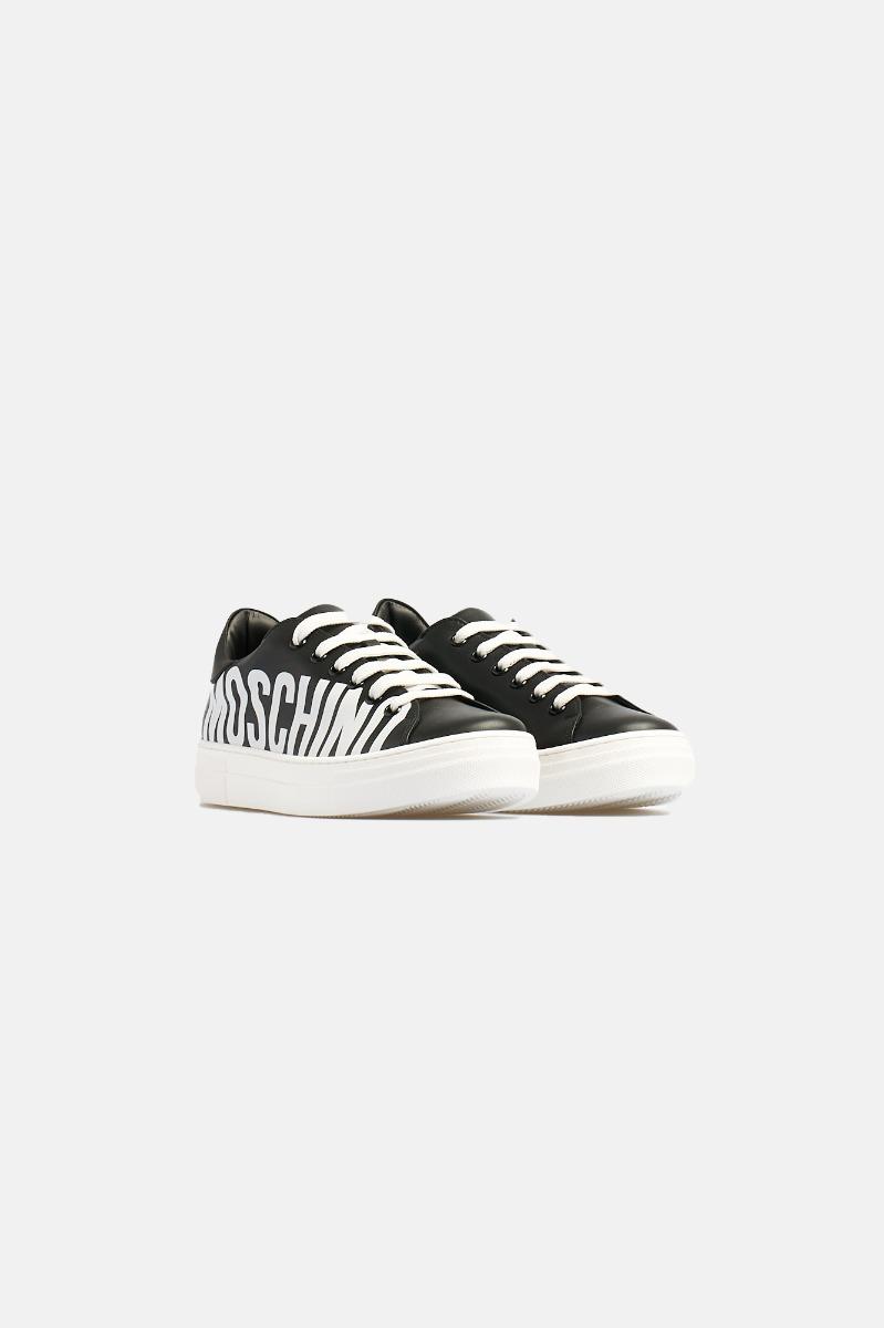 Sneakers logo moschino -Nero