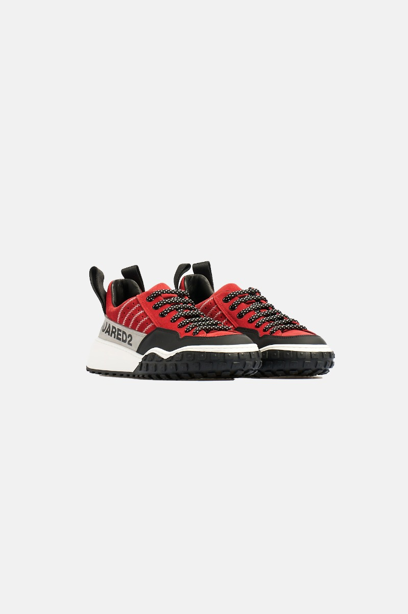Sneakers -Rosso/Nero