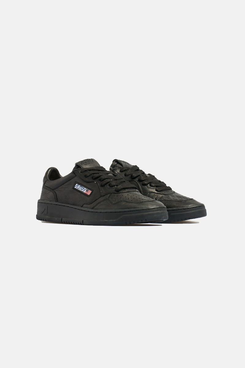 Sneakers coat solid - Nero