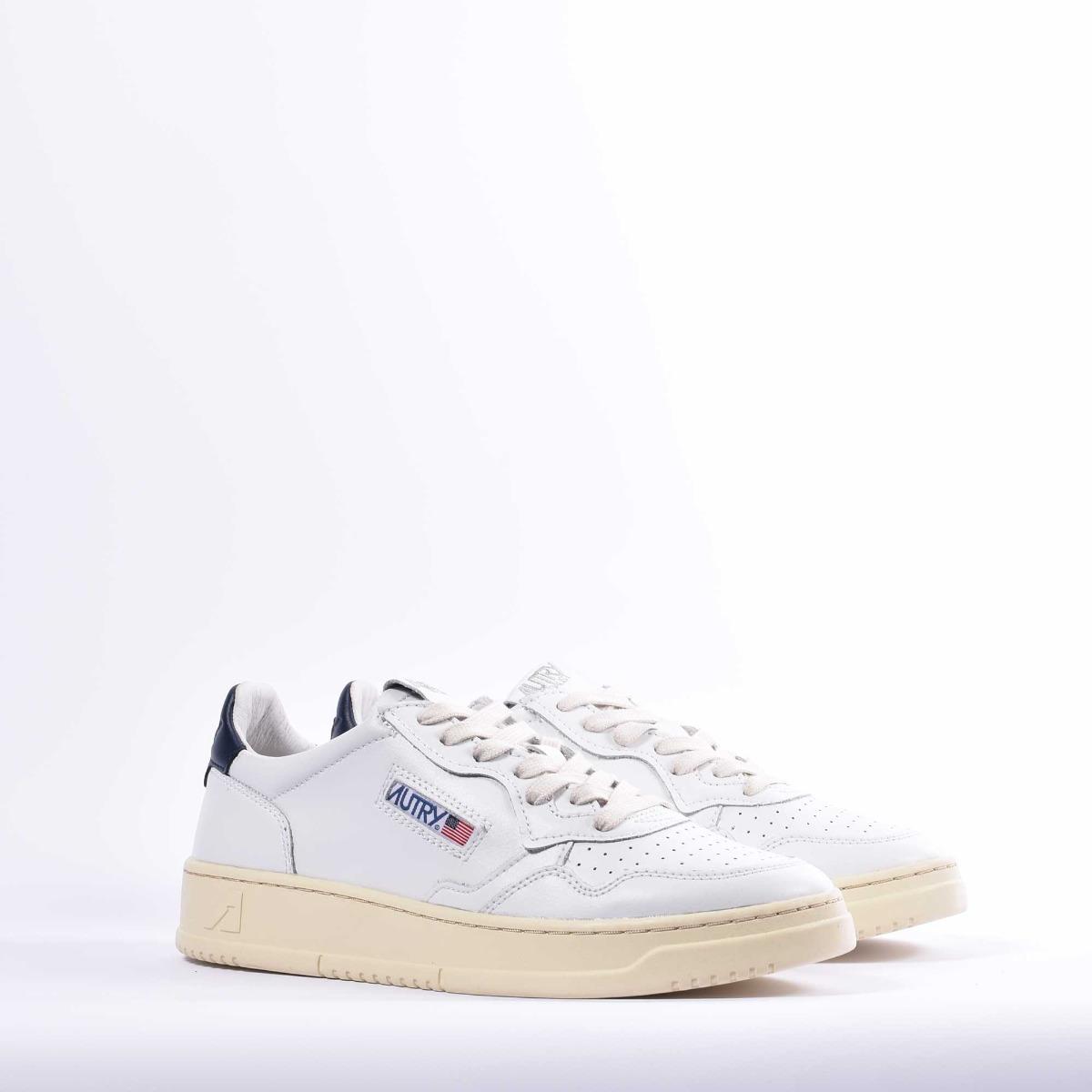 Sneakers low - Bianco/ Blu