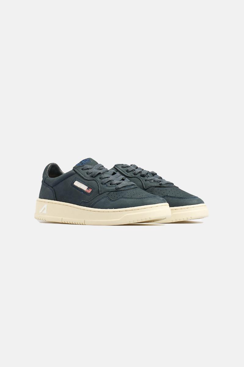 Sneakers nabuk - Blu
