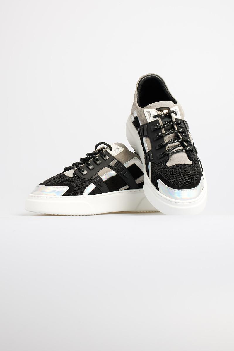 Sneaker mini silver stone - grigio