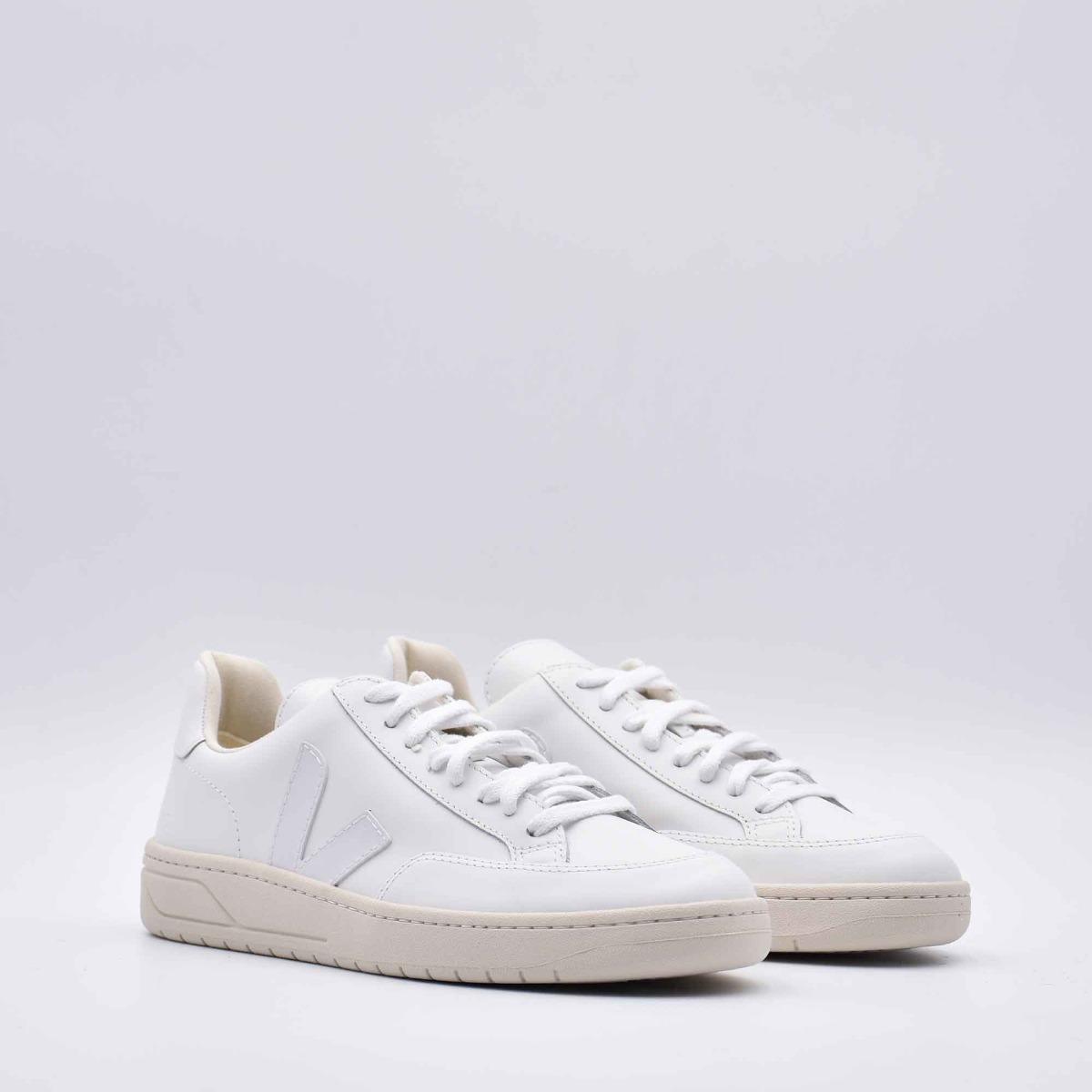 Sneakers v-12 - Bianco