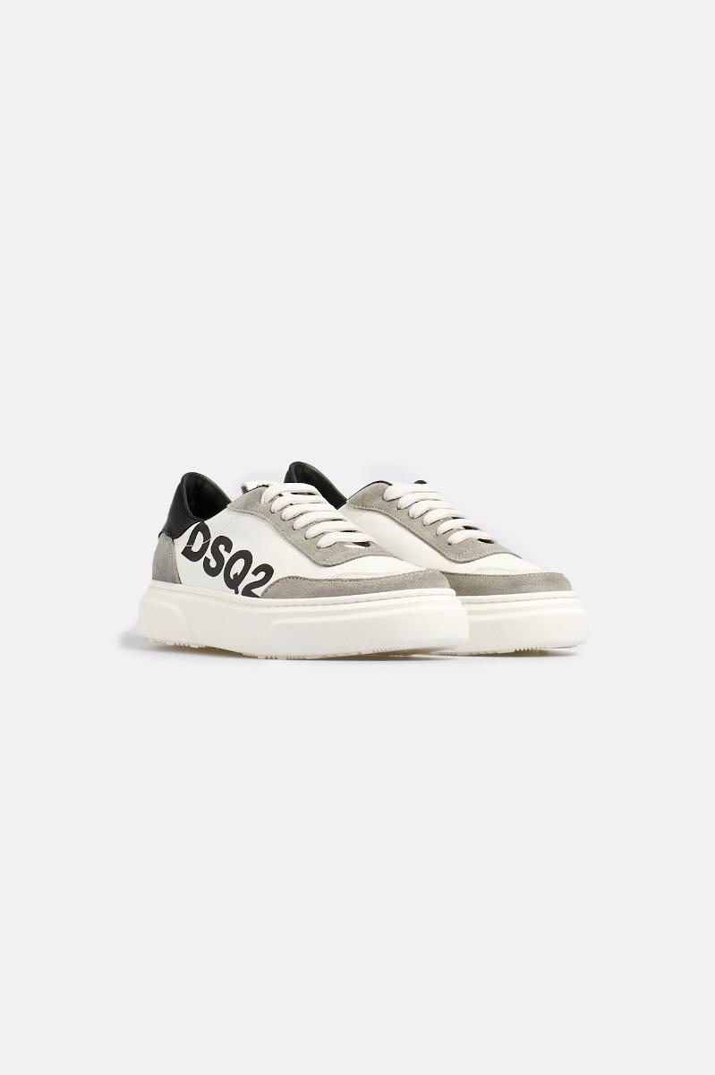 Sneakers Bianco-Grigio