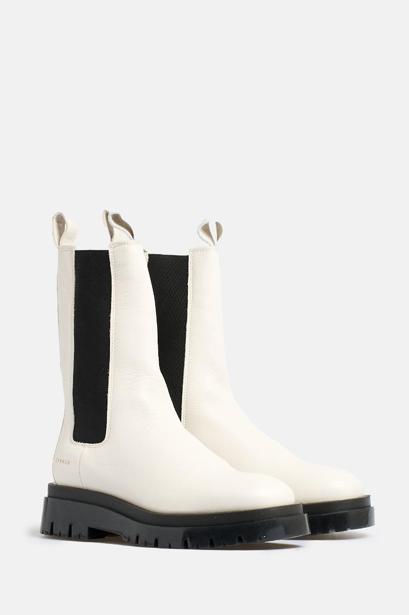 Boots fascia elastica- Bianco