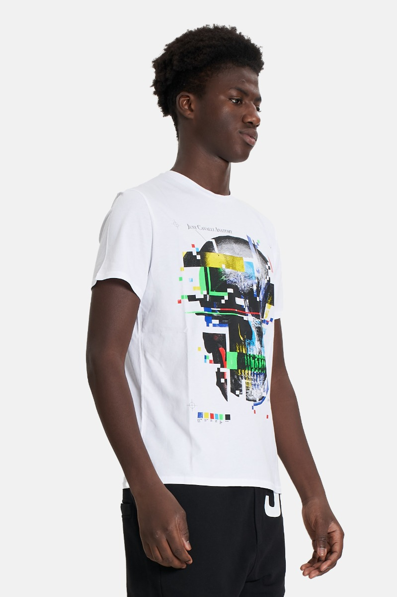 T-shirt st anatomy -Bianco