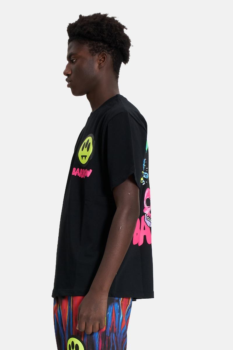 Jersey t-shirt unisex -Nero