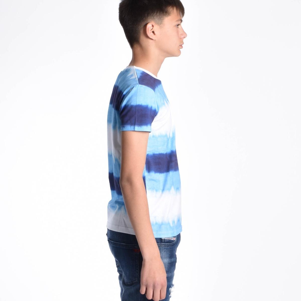 T-shirt a sfumare - Multicolore