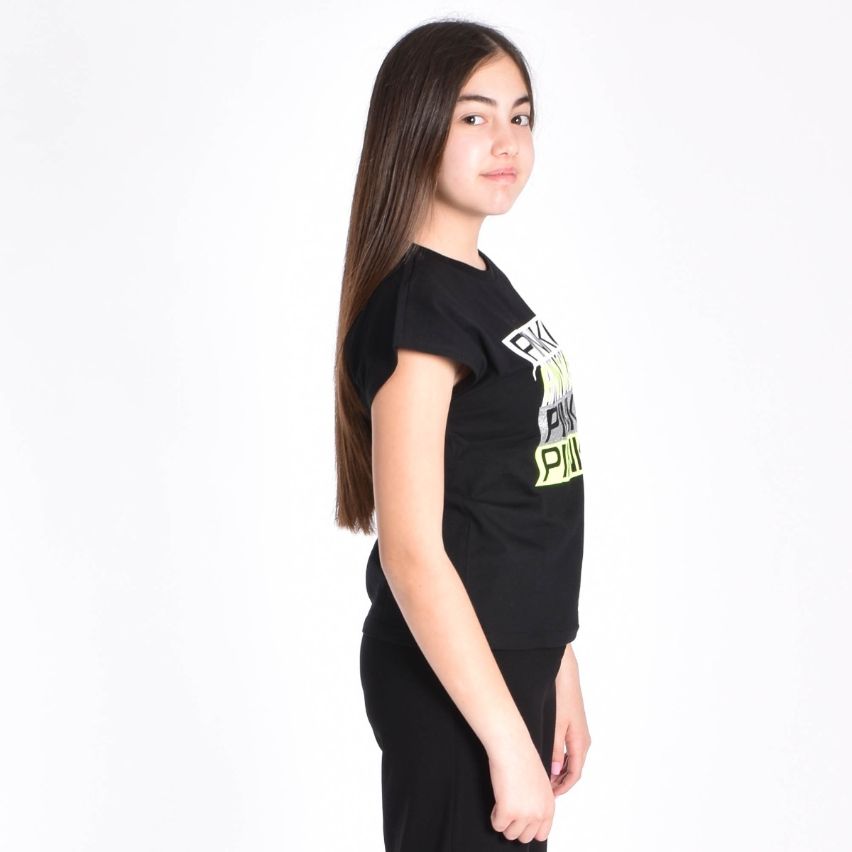 T-shirt con logo - Nera