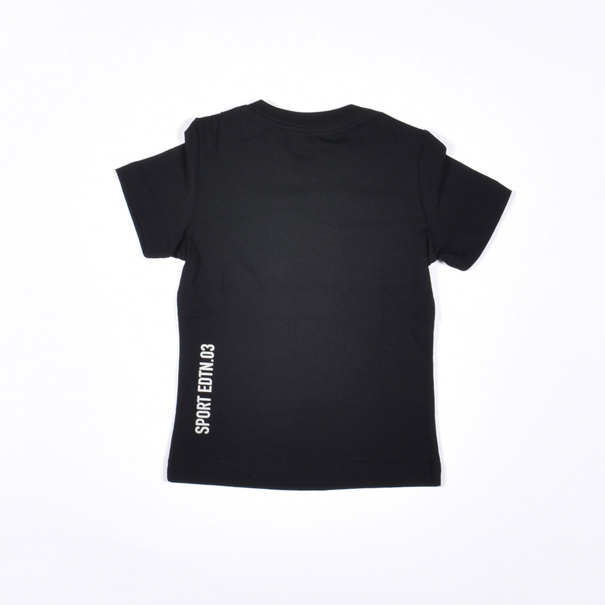 T-shirt stampa acero- Nero