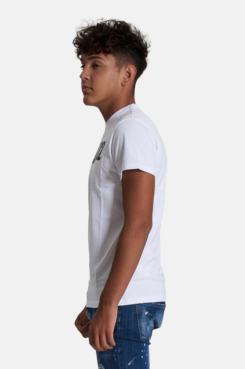 T-shirt relax- Bianco