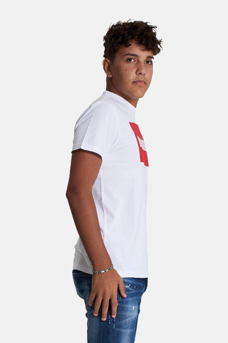 T-shirt relax -Bianco