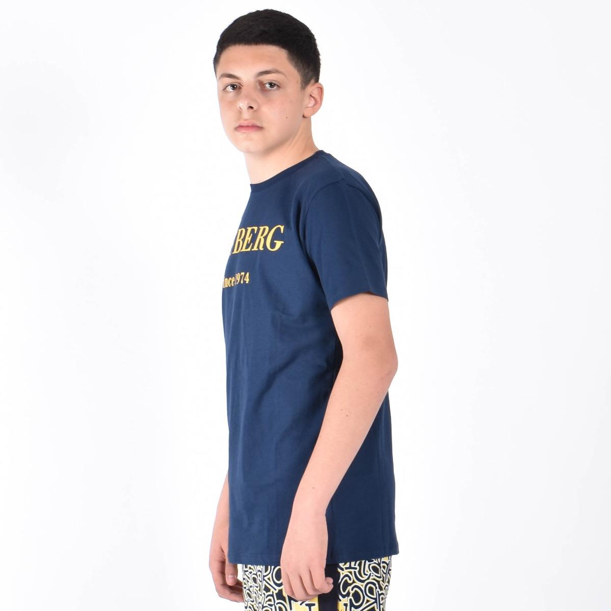 T-shirt logo - Blu
