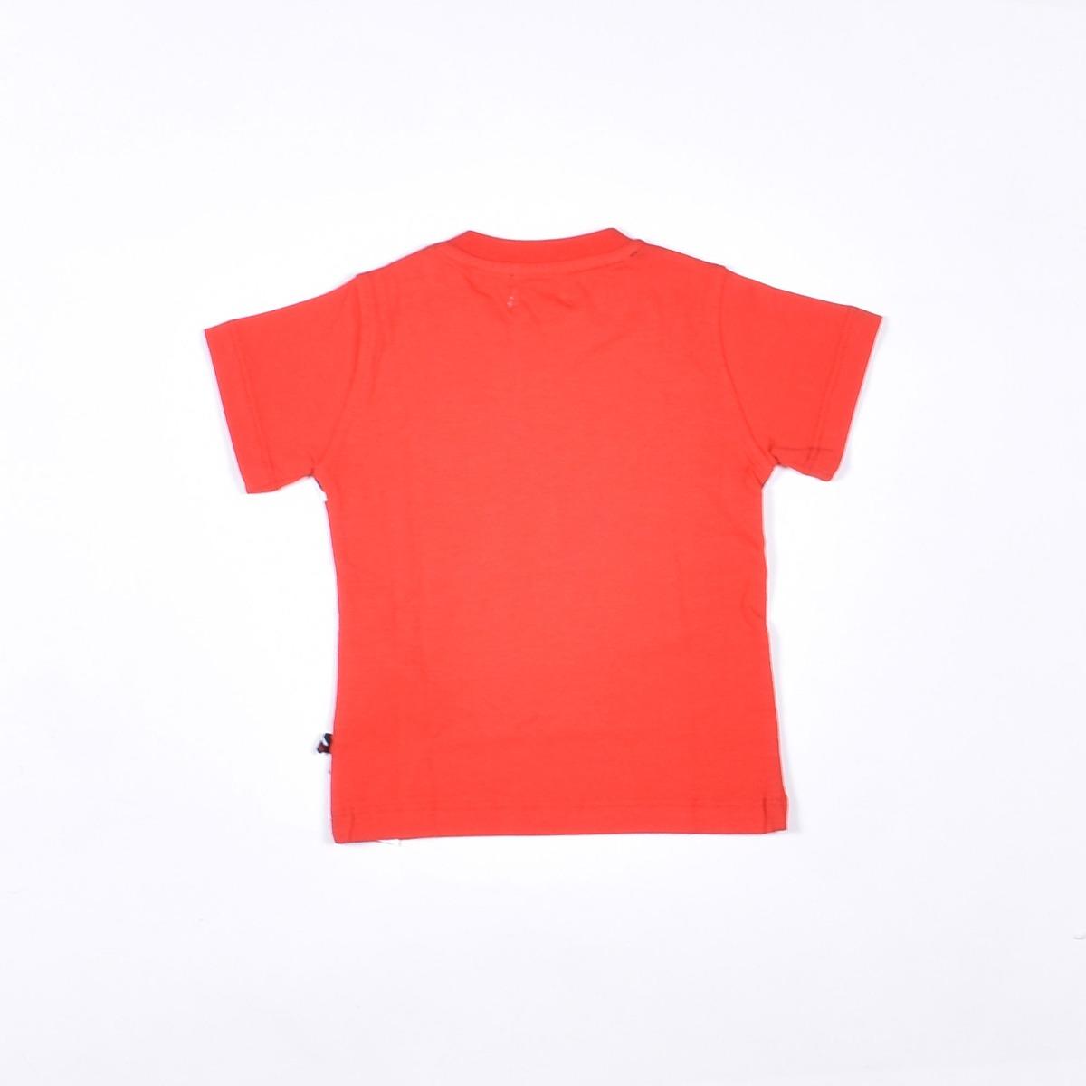 T-shirt con logo - Rossa
