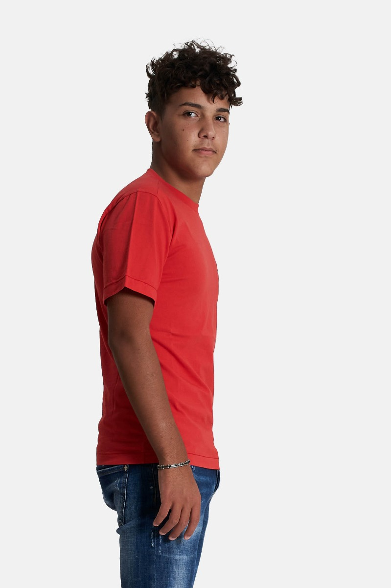 T-shirt relax - Rosso