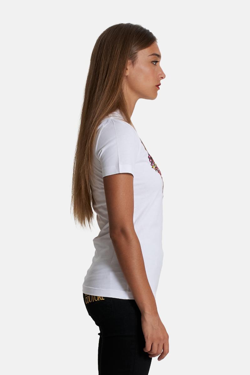 T-shirt s valentine - Bianco