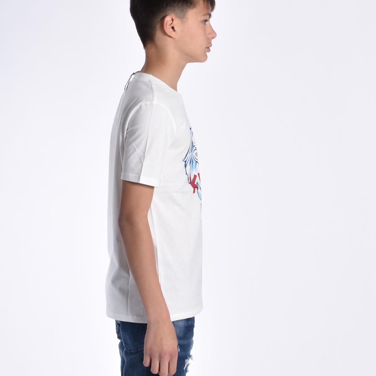 T-shirt con elefante - Bianca