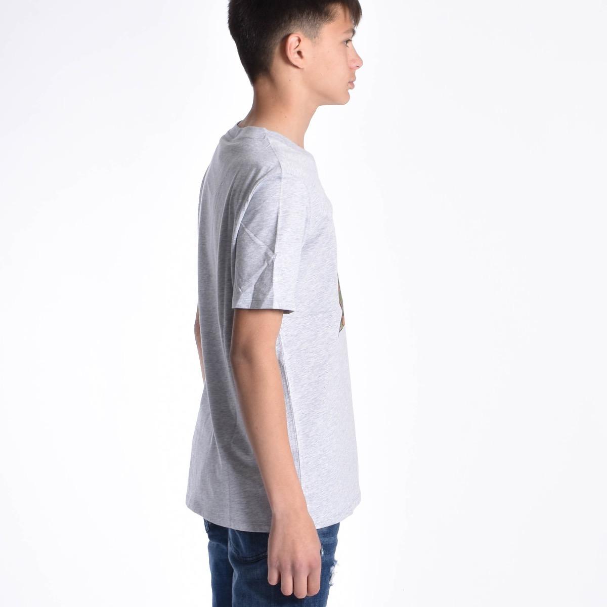 T-shirt con foresta - Grigia
