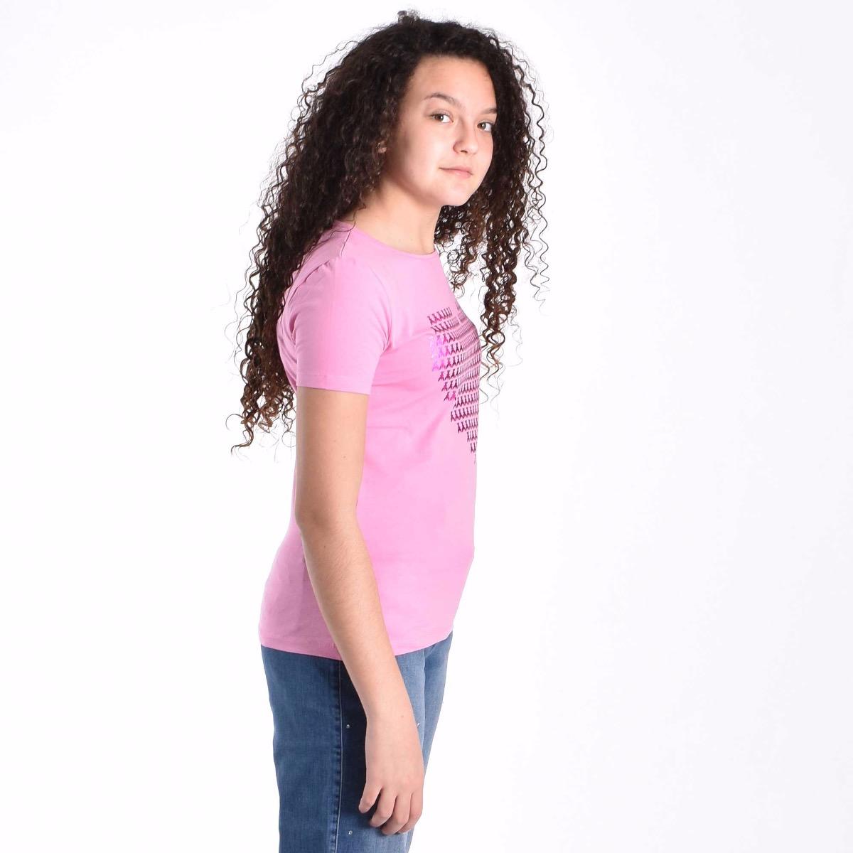 T-shirt Heart - Rosa