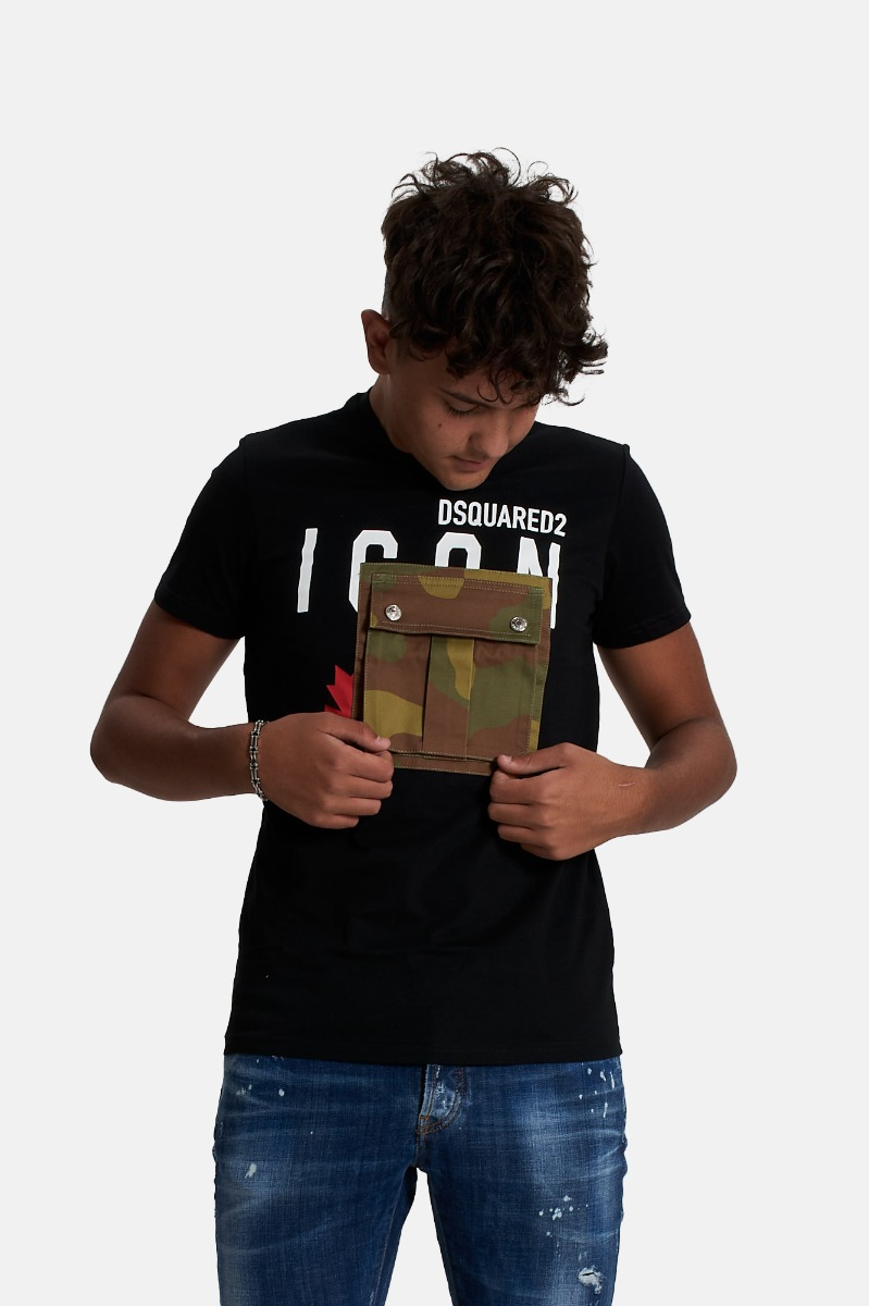 T-shirt Icon - Nero