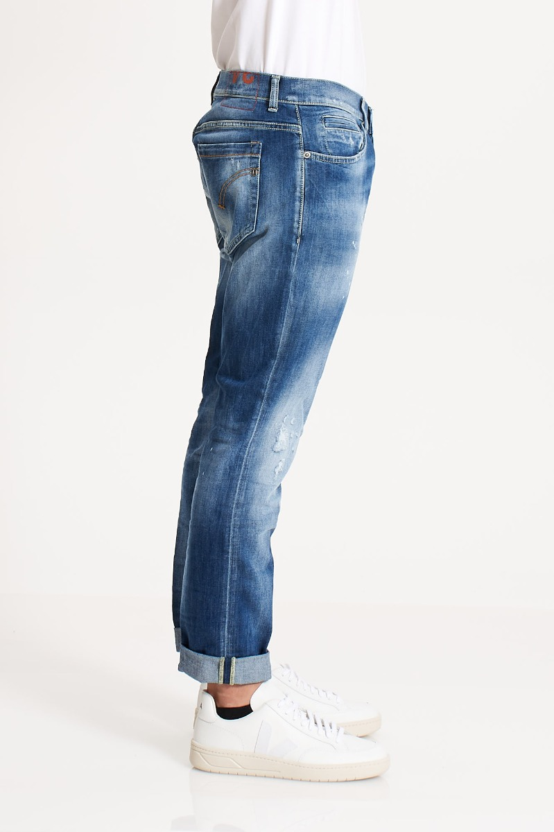 Jeans george strappi - Denim chiaro 800