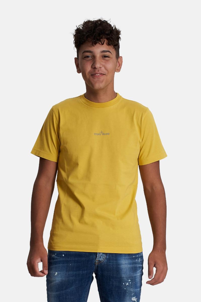 T-shirt con stampa - Mustard