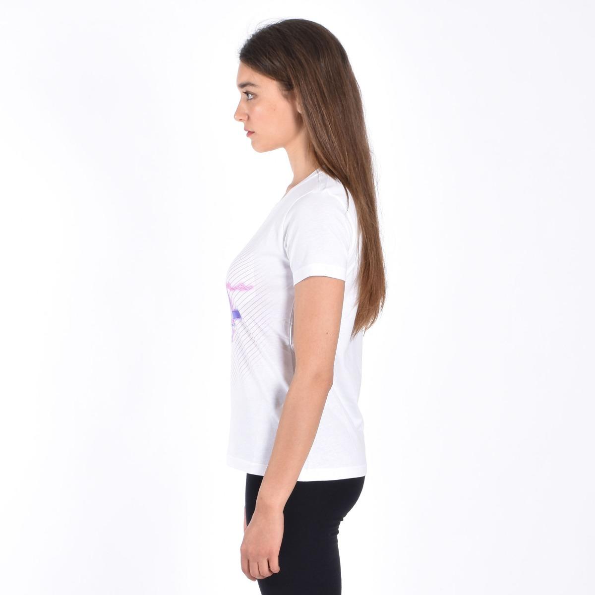 T-shirt logo insegna - Bianco