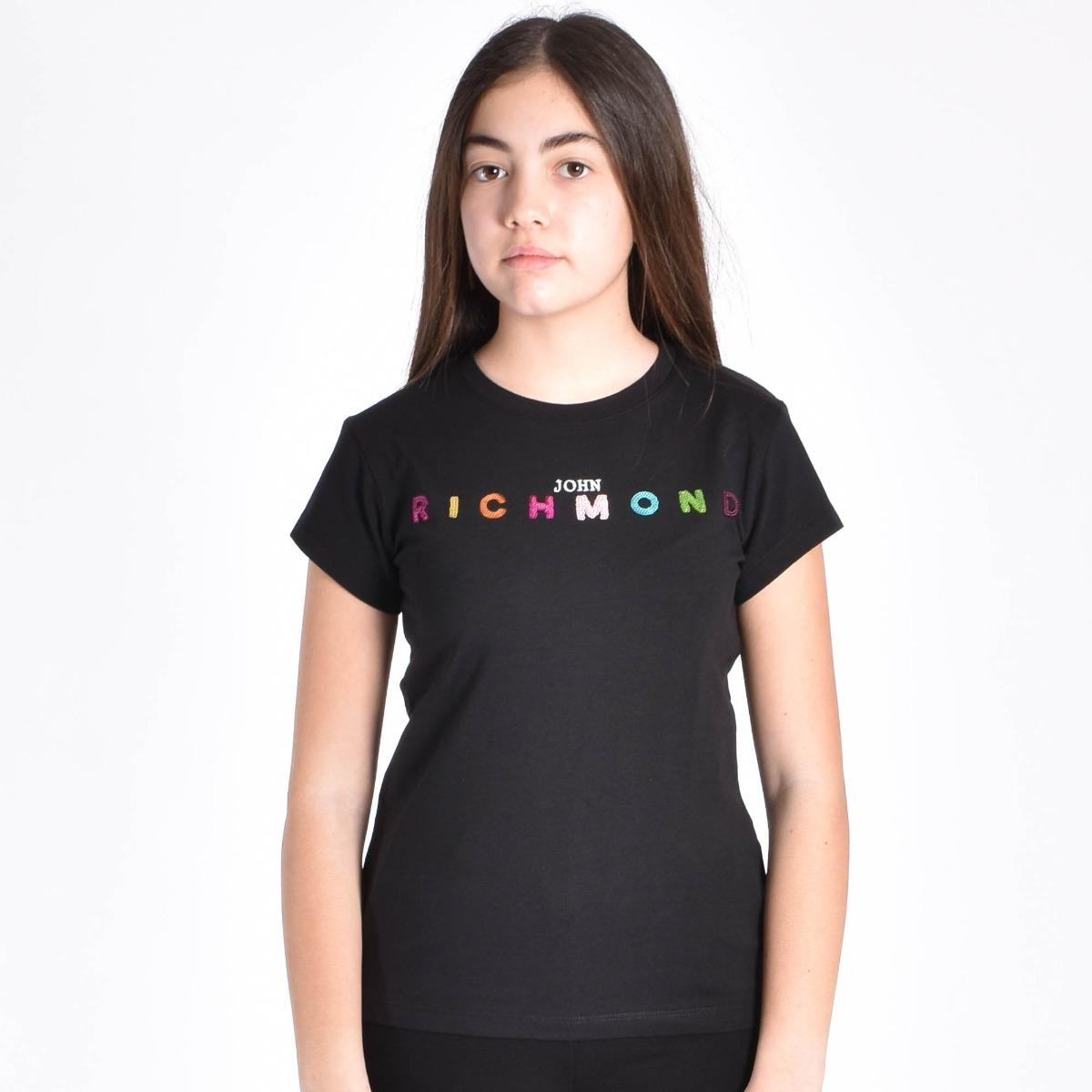 T-shirt marian- Nero